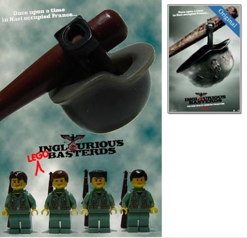 Pósters de películas recreadas con lego
