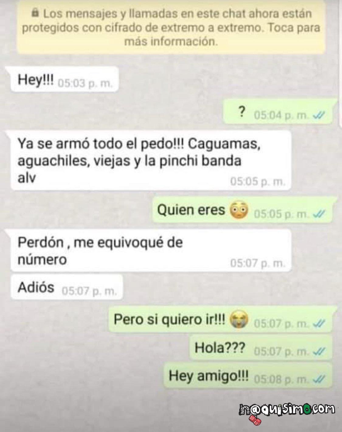 Conversaciones Chistosas Whatsapp