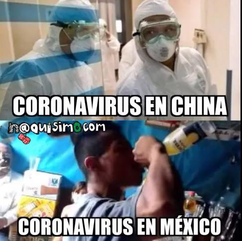 imagenes chistosas del coronavirus en mexico