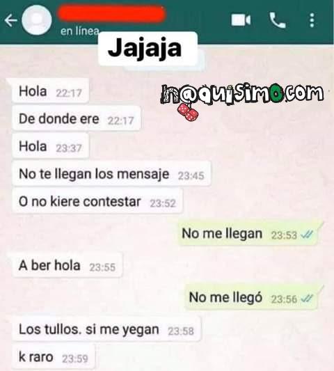 Conversaciones Chistosas de Whatsapp