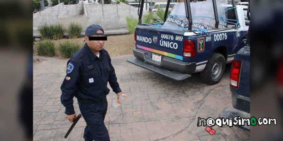 Policia Estriper Fiesta LGBT